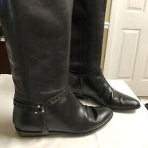 """ETIENNE AIGNER """"ALEXIS"""" 8 NARROW RIDING BOOTS"""